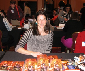 book signing, author, writing conference, Create Something Magical, Jill Archer, Dark Light of Day, fantasy