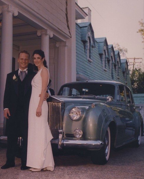 1997 wedding reception at historic Overhills Mansion in Baltimore County, Maryland