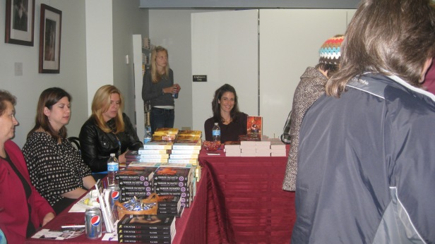 Dark Light of Day book signing at Turn the Page