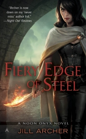 Jill Archer Fiery Edge of Steel
