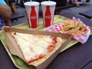 American Amusement Park Food