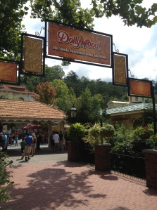 Dollywood, a fun, mountain theme park