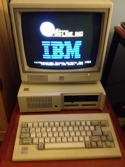 King's Quest, IBM PC Jr, vintage video game