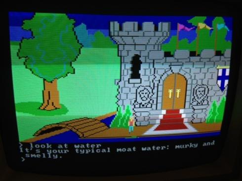 IBM PC Jr, King's Quest, vintage video gaming