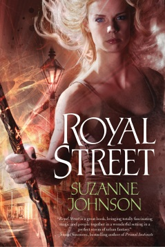 urban fantasy, Suzanne Johnson, Royal Street