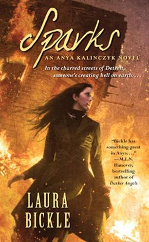 Sparks Laura Bickle, urban fantasy