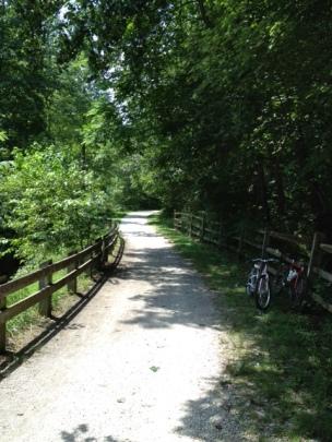 Go biking! Rails to Trail
