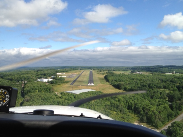 Go flying! Tiny airstrip out in Erie, Pennsylvania