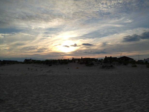 Ocean City sunset, sand dunes, beaches, east cost, travel, vacation