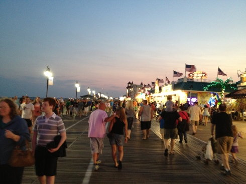 Ocean City, New Jersey, boardwalk, beach, vacation, travel, east coast