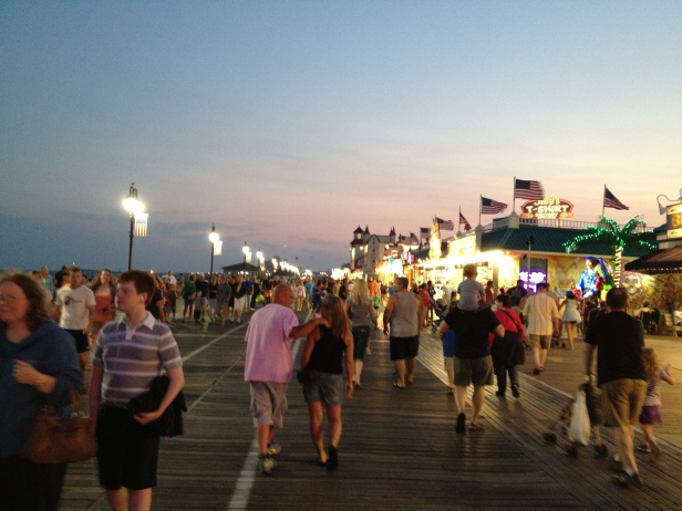 Ocean City, New Jersey, boardwalk, beach, vacation, travel, east coast
