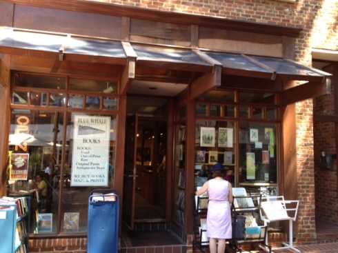 rare and used bookstore, Charlottesville, Blue Whale Books