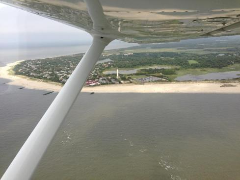 Cape May, flying, aviation, pilot, Cessna, day trip