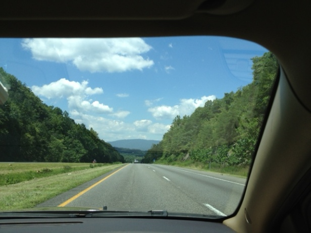 Blue Ridge Mountains, road trip