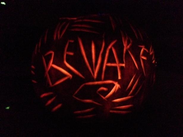 Halloween, pumpkins, jack-o-lanterns