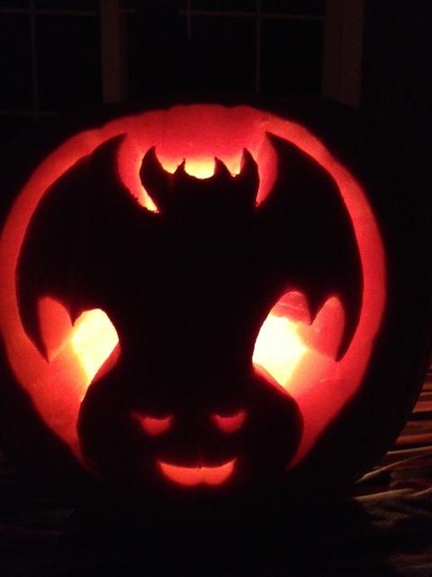 Halloween, pumpkins, jack-o-lantern, batman