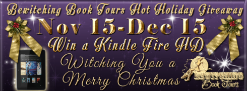 Bewitching Book Tours Hot Holiday Giveaway Banner
