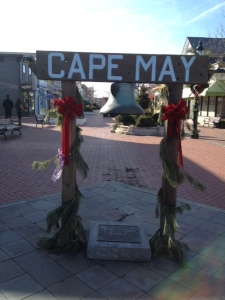 Cape May Mall Sign
