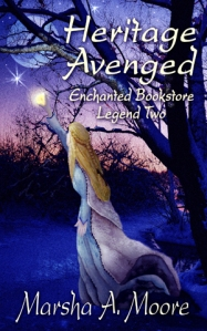 epic fantasy romance, Marsha A. Moore, Enchanted Bookstore Legends