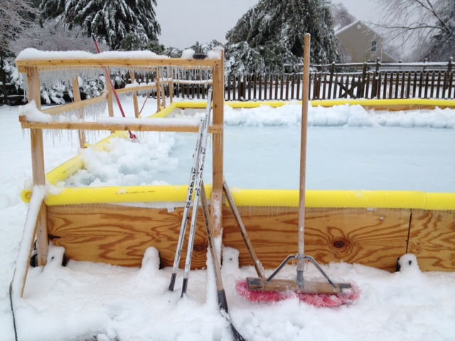 Weather and Writing: Part II (How Building a Backyard Ice ...