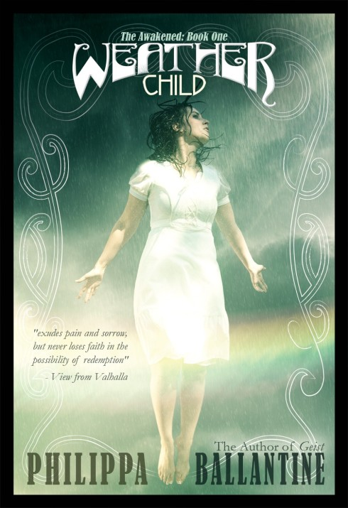 historical fantasy, Weather Child, Philippa Ballantine