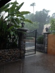 Thunderstorm outside of Tower of Terror