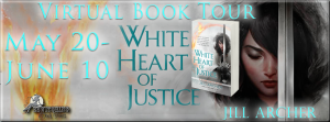 White Heart of Justice Banner