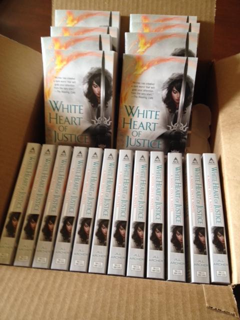 White Heart of Justice, Noon Onyx, Jill Archer, fantasy, urban fantasy, dark fantasy