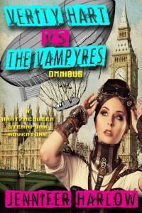 steampunk, romance, Jennifer Harlow, Verity Hart