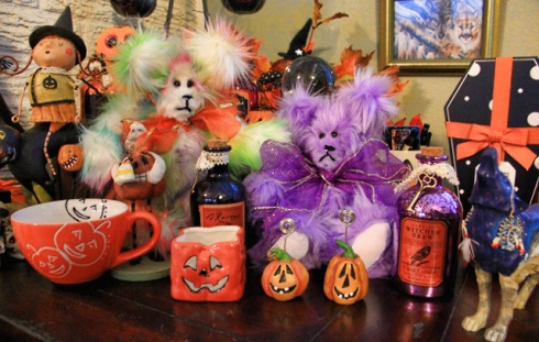 Terry Spear, paranormal, author, crafts, teddy bear, Halloween