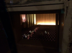 View from Projection Booth
