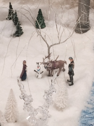 My Favorites: Anna, Kristoff, Sven, and Olaf