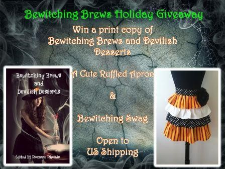 Bewitching Brews Holiday Giveaway, fantasy, urban fantasy, paranormal romance, books, fiction