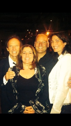 Gary and Rose Wright, Craig and me at NYC's City Winery