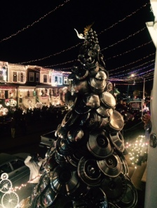 Hubcap Holiday Tree
