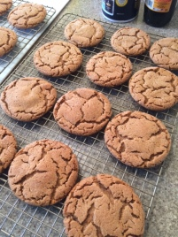 Nutmeg cookies in honor of our new kitten
