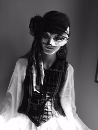 Older daughter's pirate costume