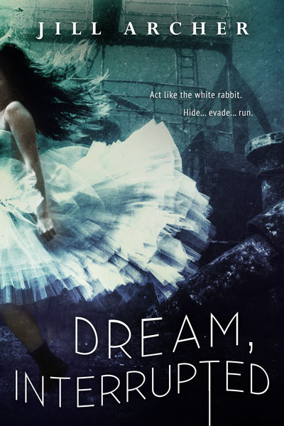 book cover, mock-up, Dream Interrupted, Jill Archer, dark fantasy, Corelei Neverest, gothic romance, mystery