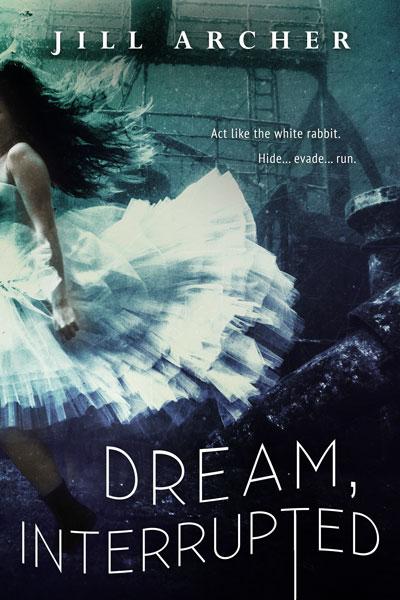 book cover, mock-up, Dream Interrupted, Jill Archer, dark fantasy, Corelei Neverest, gothic romance, mystery