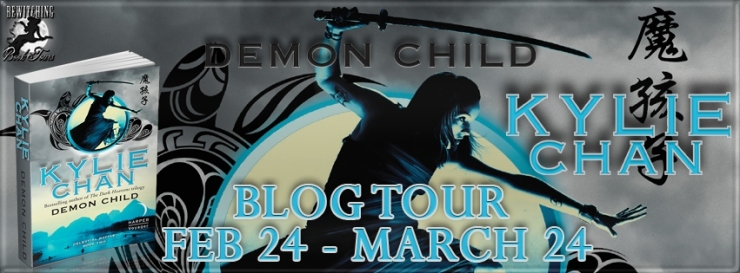 Kylie Chan, Demon Child, fantasy, romance, magic, martial arts, demons