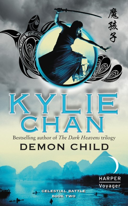 Kylie Chan, Demon Child, fantasy, romance, magic, martial arts, demons,
