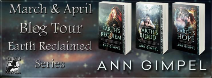 urban fantasy, dystopian, Ann Gimpel, Earth Reclaimed