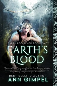 urban fantasy, dystopian, Ann Gimpel, Earth's Blood