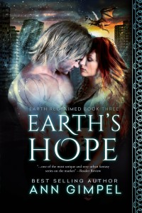 urban fantasy, dystopian, Ann Gimpel, Earth's Hope