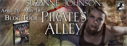 Suzanne Johnson Pirate's Alley Banner