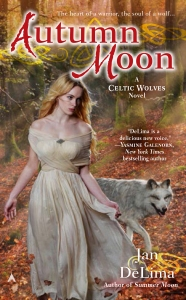 Celtic Wolves Autumn Moon