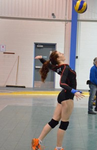Chalotte Copper daughter vball