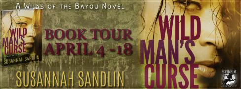 Susanna Sandlin, Suzanne Johnson, Wild Man's Curse, romantic suspense, Louisiana