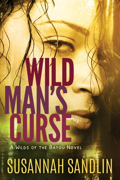 Susanna Sandlin, Suzanne Johnson, Wild Man's Curse, romantic suspense, Louisiana