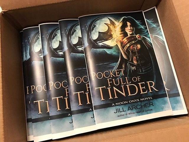 Pocket Full of Tinder, Noon Onyx, Jill Archer, Fantasy, Paranormal